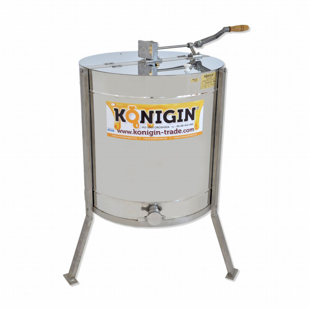 50-4-TK 4 frames, tangential honey extractor, hand drive for all ...